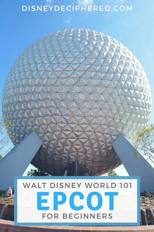 Tips and secrets for visiting Epcot at Walt Disney World. A beginner's guide to World Showcase and Future World, the best food, seasonal festivals, and top rides like Frozen Ever After. #disney #disneyworld #waltdisneyworld #epcot #disneysmmc #disneydeciphered