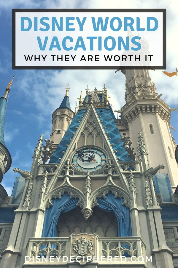 Wondering if a vacation to Walt Disney World is worth it for your family? Breaking down the benefits and advantages of a Disney vacation in Orlando, with insider tips to make it easier! #disney #disneyworld #waltdisneyworld #disneysmmc #disneydeciphered