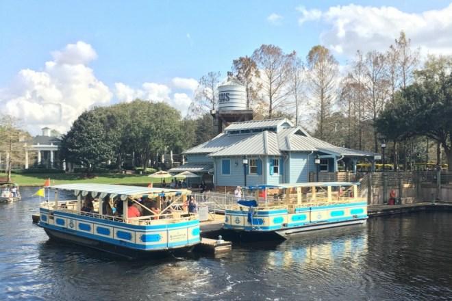 Disney World Transportation Boats