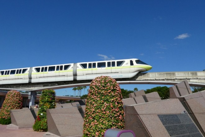 Disney World Without a Park Ticket - Young kids enjoy Disney transportation without even entering the parks