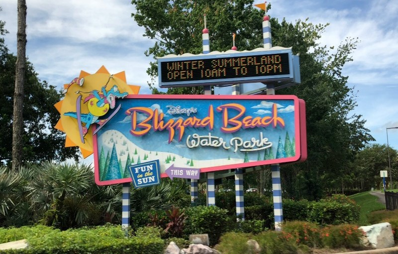 Disney Blizzard Beach Entrance