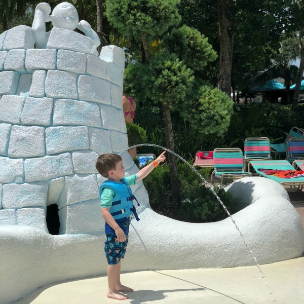 Disneys Blizzard Beach - Toddler at Tikes Peak