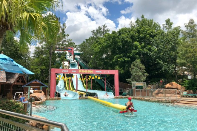 Disney World Without a Park Ticket - Tube Slides