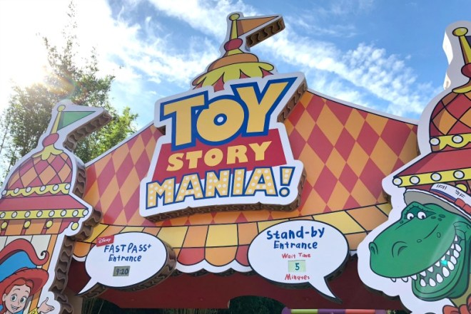 Toy Story Land Toy Story Mania New Entrance