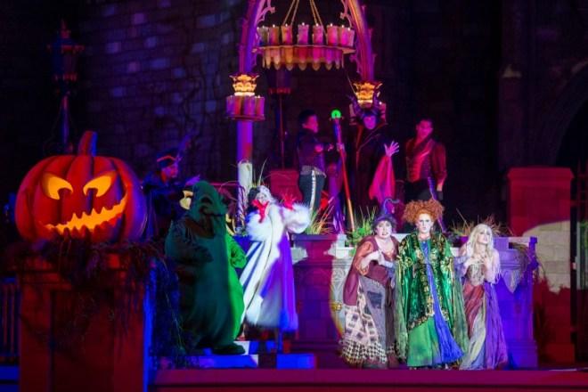 Mickeys Not-So-Scary Halloween Party 101 - Hocus Pocus Villain Spelltacular