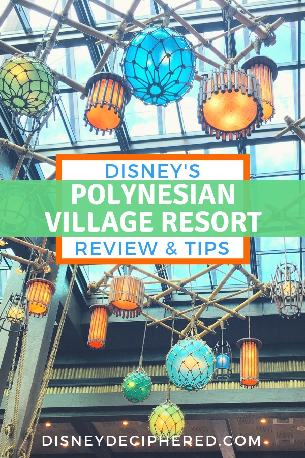 Tips and tricks for a stay at Disney's Polynesian Village Resort. Reviews of the location, rooms, pools, amenities, and dining - including 'Ohana, Trader Sam's and many other favorites. #DisneyWorld #Polynesian #Disney #DisneyHotel #DisneySMMC #DisneyDeciphered