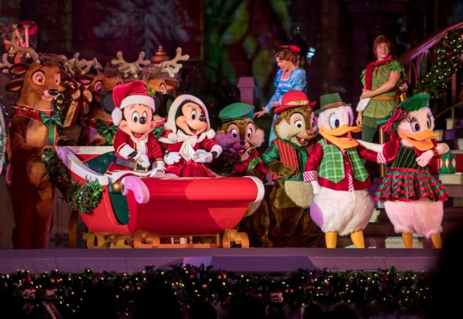 Mickey Very Merry Christmas Party Mickeys Most Merriest Celebration