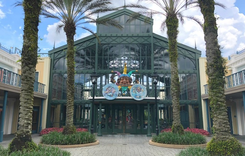 Port Orleans French Quarter and Riverside Resort Review and Tips - French Quarter Lobby