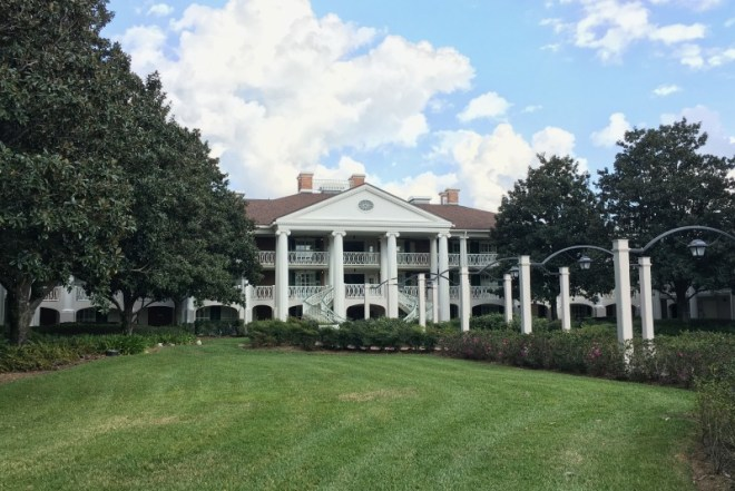 Port Orleans French Quarter and Riverside Resort Review and Tips - Magnolia Bend Building