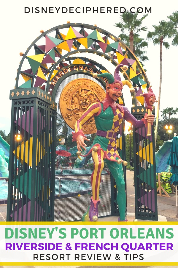 Disney's Port Orleans Riverside and French Quarter Resorts - what to know before a stay at these moderate resort hotels at Walt Disney World. Room types, amenities and activities, restaurants, and tips and tricks for a stay. #disney #portorleans