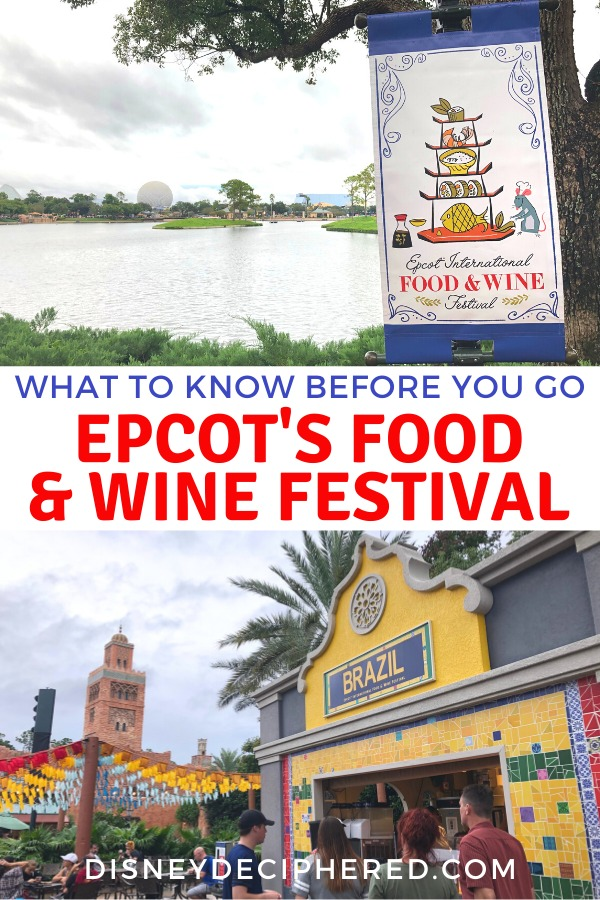 What to know before you go to the Epcot International Food & Wine Festival at Walt Disney World in the fall. Tips and advice on the best food, crowds, and special events. #epcot #foodandwine #tasteepcot #disneyworld