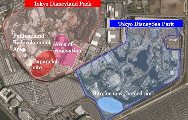 Tokyo disneyland announces major expansion disney diary the place for news views photos and videos of all things disney especially for us big kids sciox Gallery
