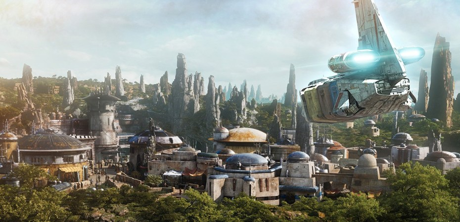 Image result for galaxy's edge dedication