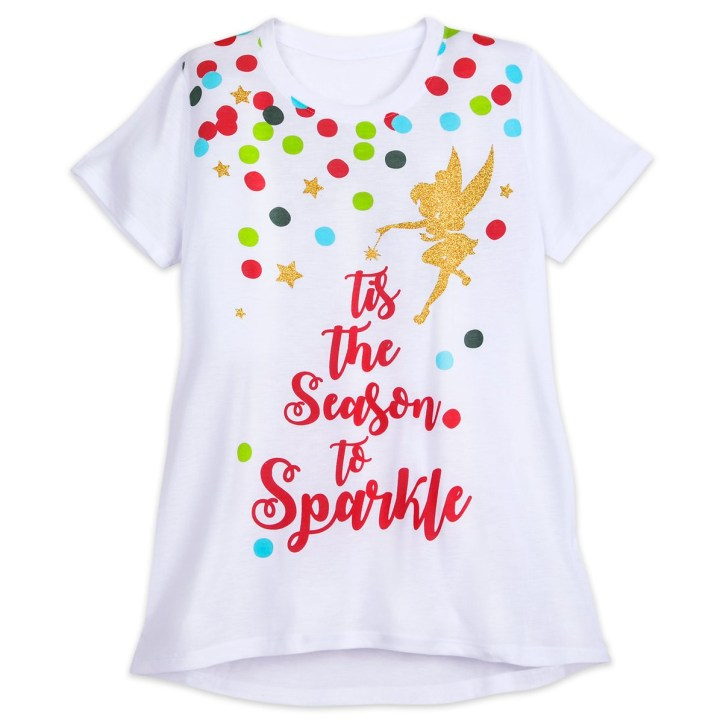 Tinker Bell holiday t-shirt
