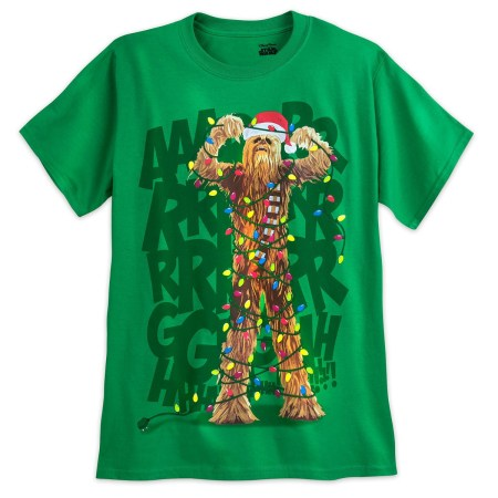 Chewbacca holiday t-shirt