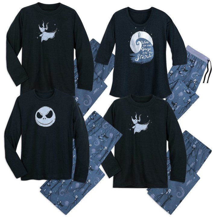 Nightmare Before Christmas pajama collection from Munki Munki