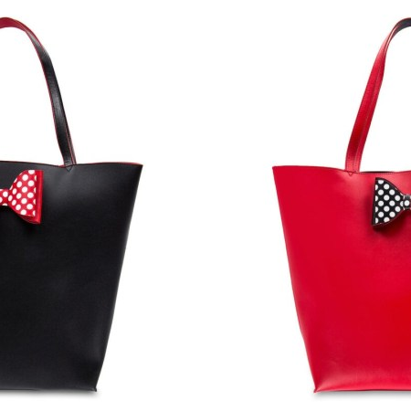 Minnie Mouse reversible tote