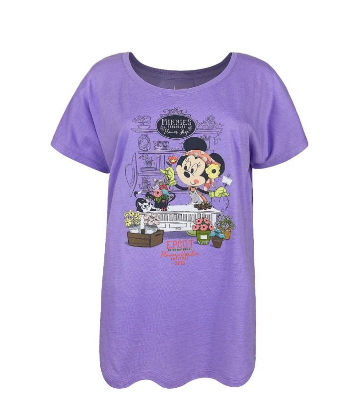2018 Epcot Flower & Garden Minnie t-shirt