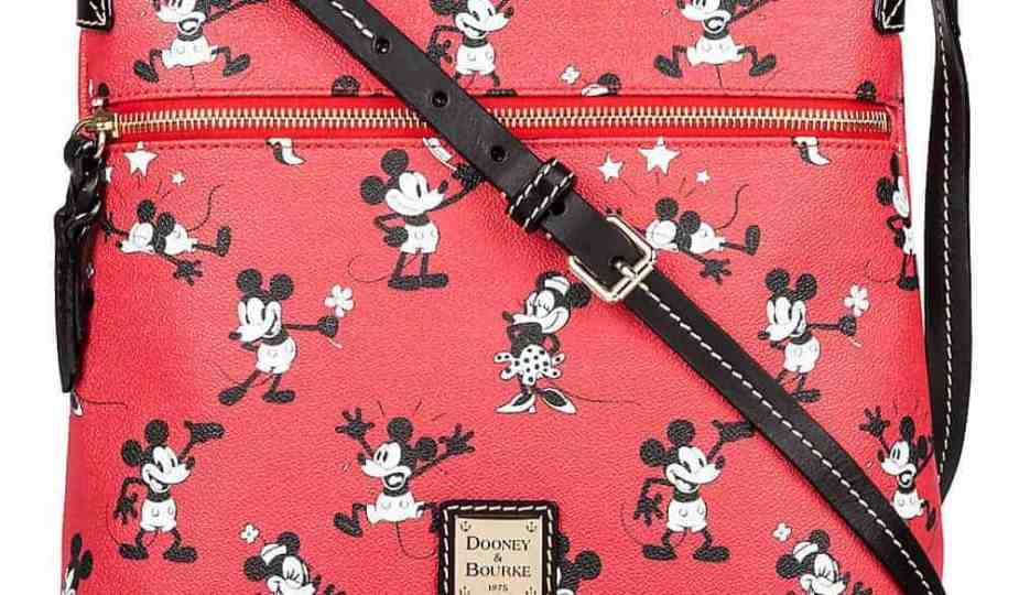 Mickey & Minnie Retro Red Crossbody