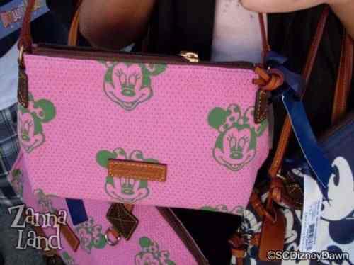 Pink Minnie Canvas Pouchette