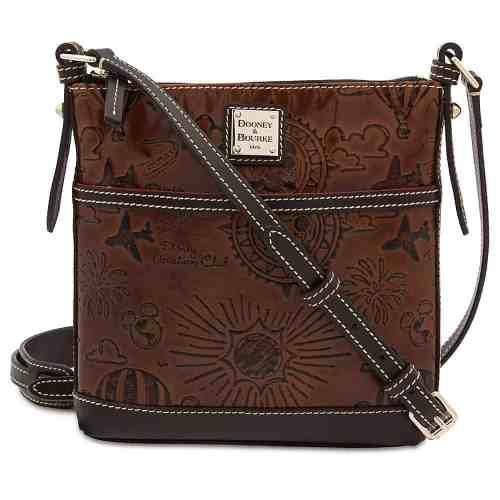 DVC Brown Leather Crossbody