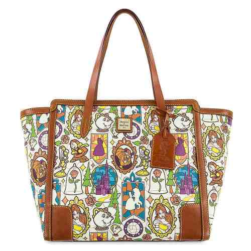 Beauty and the Beast Large Shopper