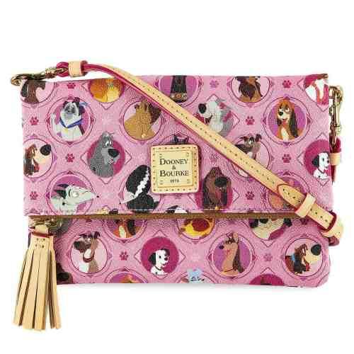 Pink Disney Dogs Crossbody
