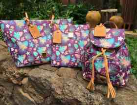 Aulani Purple Floral Collection