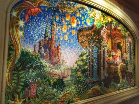 Shanghai disneyland a disney world for Disneyland mural