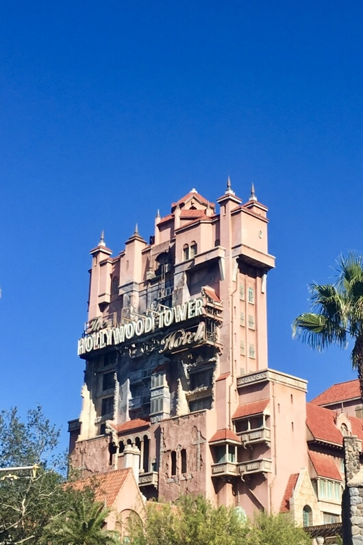 Top 5 - Hollywood Studios - Tower of Terror
