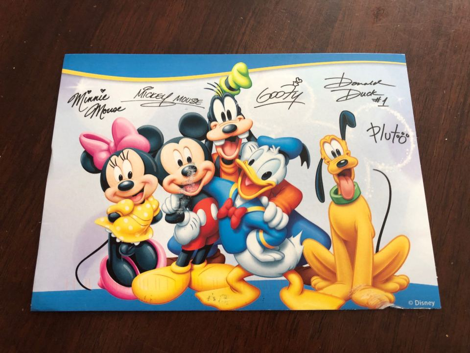 Getting a Letter from Mickey Mouse and Friends! - Disney ... on