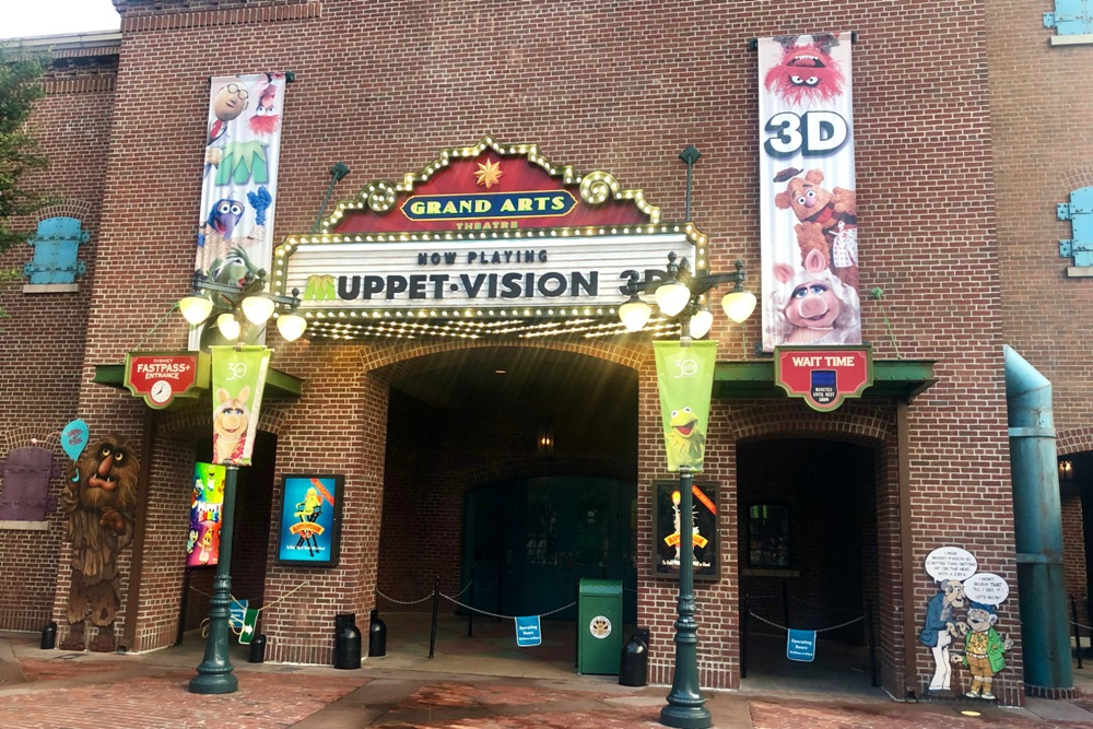 Disney Skip List - Muppet Vision 3D Theater