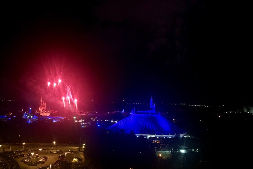 Top of the World - Castle Fireworks