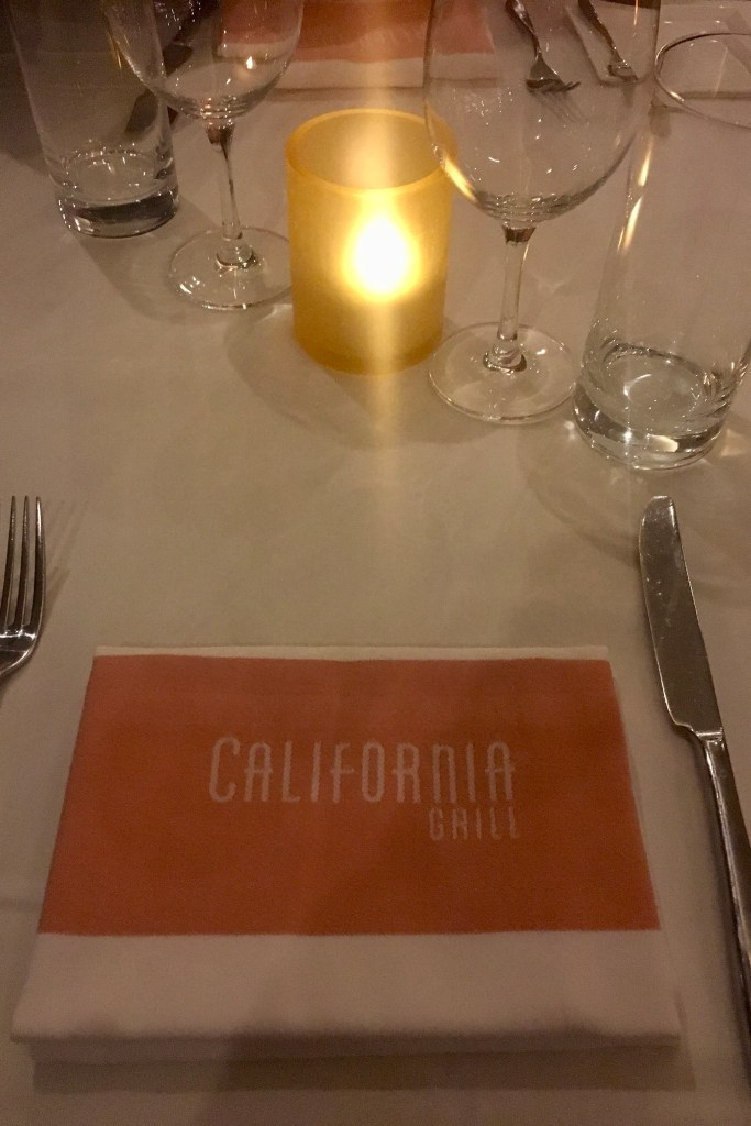 Disney Proposal - California Grill