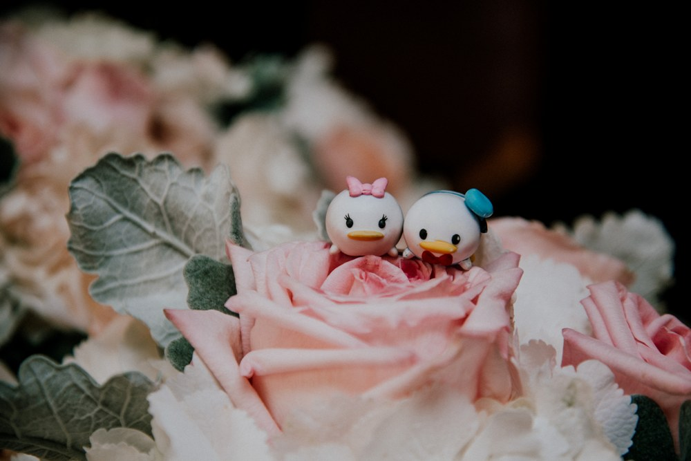 Disney Wedding - Donald and Daisy Flowers
