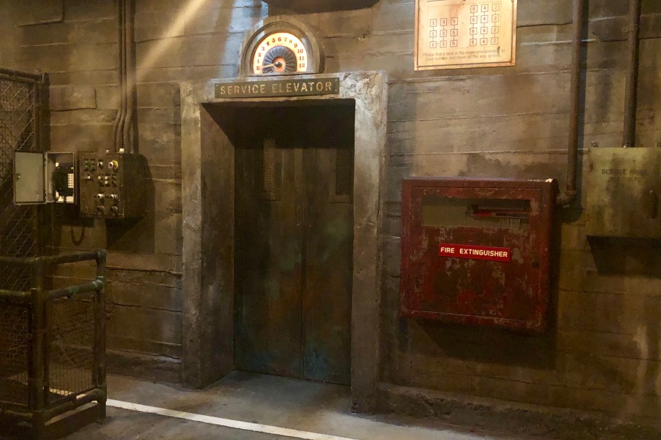 Tower of Terror - Attraction Queue - Elevator