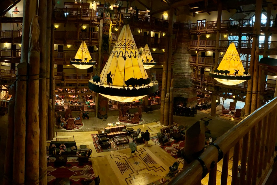 Wilderness Lodge Lobby - WDW top 5