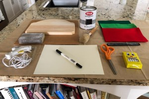 chalk paint, disney countdown