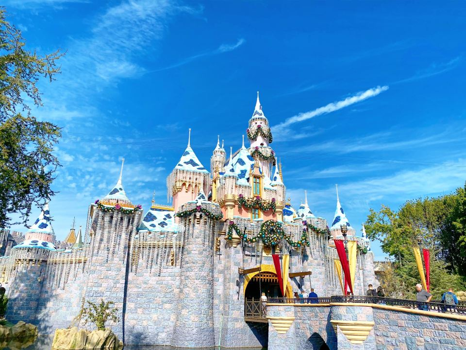 Disneyland Park Sleeping Beauty Castle California