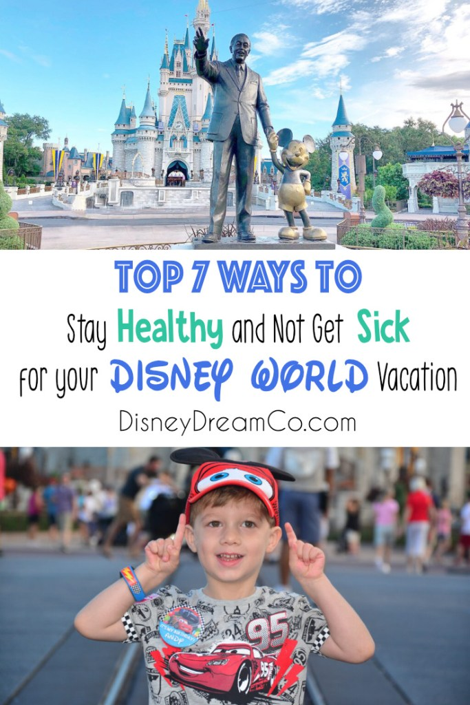 stay healthy at Disney