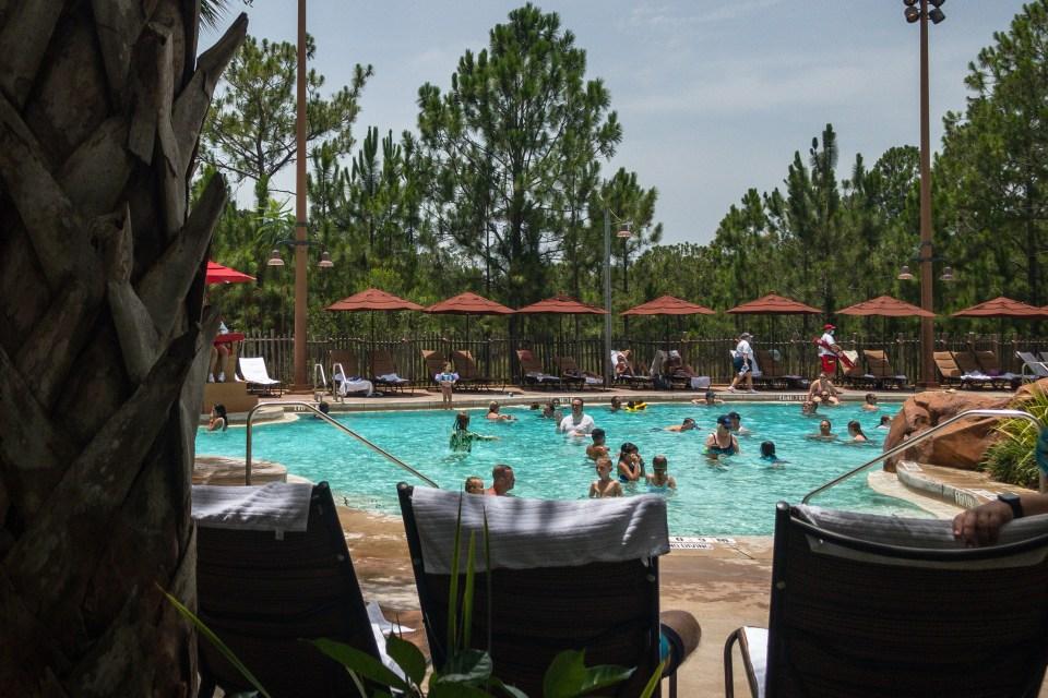 Kidani Village Pool, Disney During COVID