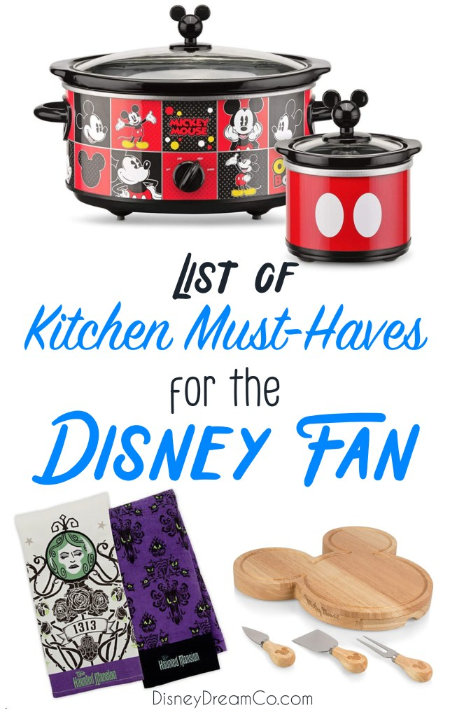 Kitchen Must-Haves for Disney