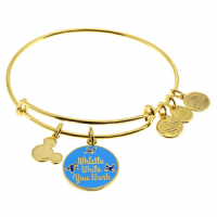 "Snow White ""Whistle While You Work"" Bangle by Alex and Ani (blue)"