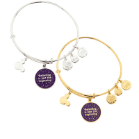 """Tinker Bell """"Believing is just the beginning"""" Bangle by Alex and Ani"""