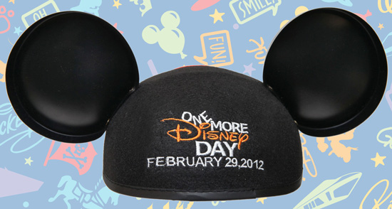 One More Disney Day Ear Hat