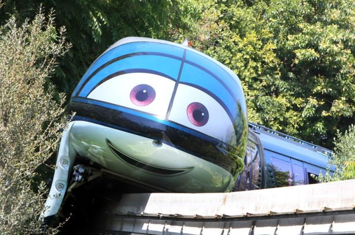 Cars Land Monorails Disneyland 1