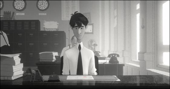 Disney Paperman George