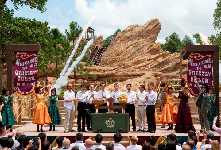 Grizzly Gulch Grand Opening Hong Kong Disneyland 2