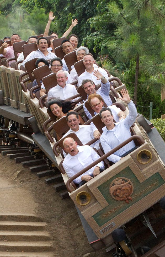 Grizzly Gulch Grand Opening Hong Kong Disneyland 3