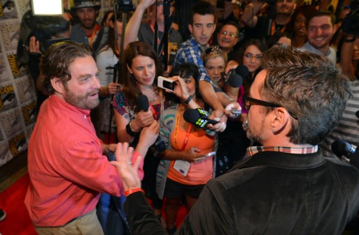 Iron Man 3 Comic Con Robert Downey Jr 2